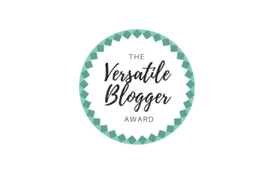 Versatile Blogger AwardNomination